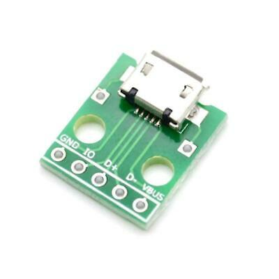 1PC Mini USB Adapter Plate Board Breakout For USB Mini-B Extension