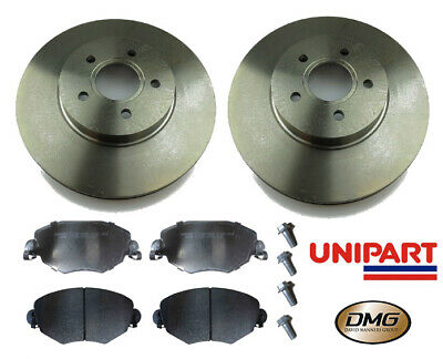 FORD MONDEO MK3 FRONT BRAKE DISCS AND PADS 2000-2007 NEW COATED DESIGN