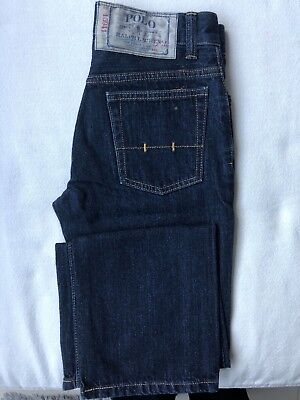 Polo Ralph Lauren boys dark blue jeans size 10