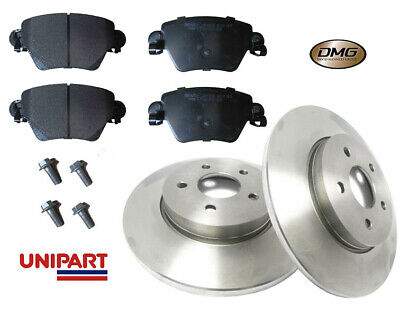 Rear Brake Disc Solid Fits FORD TRANSIT 2.2D 2011 on 280mm x 2