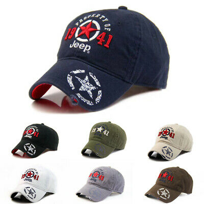 1941 Jeep Hat Casual Men Women Unisex Sport Baseball Cap 100/% Cotton Adjustable
