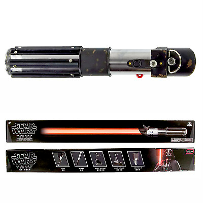 Disney Park EXCLUSIVE Star Wars DARTH VADER Deluxe Lightsaber w/ REMOVABLE BLADE