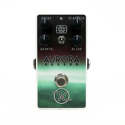 Keeley Aurora Digital Reverb Guitar Effects Effect Pedal NEW