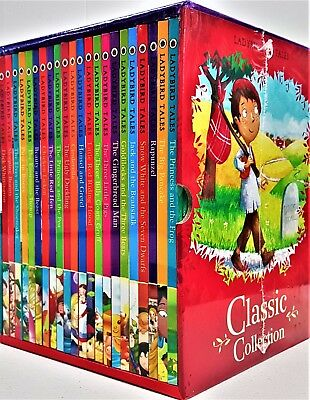 Lady Bird Classic Tales Collection 22 Books Box , the Three Little Pigs