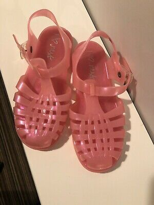 Next Girls Jelly Shoes Size 13