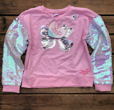 Jojo Siwa Sequin Bow Jumper UK Size Age 10-11 Years