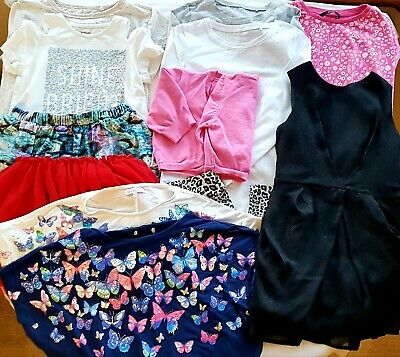 Girls Summer Clothes Bundle Age 7-8 Yrs, Tops/Skirts/Dresses/Leggings Etc.