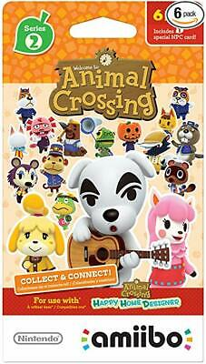 You Pick - Unscanned -Individual Animal Crossing Amiibo Cards Series 2 (101-200)