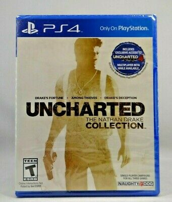 Uncharted: The Nathan Drake Collection (Sony PlayStation 4, 2015) New !