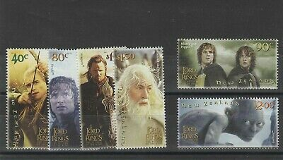 New Zealand 2003 Lord Of The Rings 3Rd Issue Um