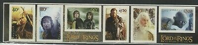 New Zealand 2003 Lord Of The Rings  Self Adhesives 3Rd Issue Um