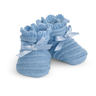 American Girl Addy Walker Nightgown Blue Knit Slippers for Doll Only