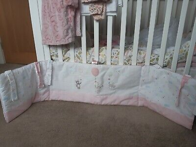 Mothercare Confetti Party Cot / Cot Bed Bumper - Excellent Unused Condition