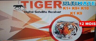 Activation Officiel Tiger Ultimate  K1+ , K9+ , K10 , K1 , K9