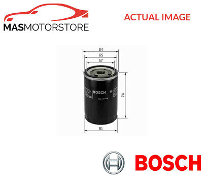 0 986 452 016 Bosch Engine Oil Filter I New Oe Replacement