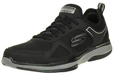 Skechers Men's Burst Air Cooled Memory Foam Athletic Shoe Black Navy PICK SIZE