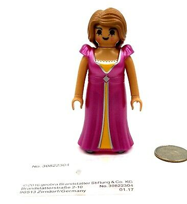 Playmobil FINE LADY Fancy Dress Collar Gold Necklace Gloves Princess Queen ~ CP8