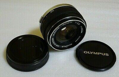 【EXT+5】Olympus OM-System H.Zuiko Auto-W 24mm f2.8 MF Lens from Japan #111397