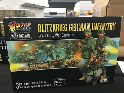 Bolt Action Blitzkrieg German Infantry (30) New In Box