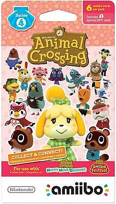 You Pick - Unscanned -Individual Animal Crossing Amiibo Cards Series 4 (301-400)