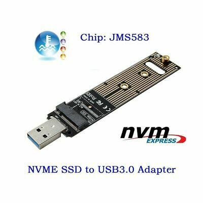 NVME M-key M.2 SSD External PCBA Adapter with Disk GL USB to 3.0 Tops Case H8S0