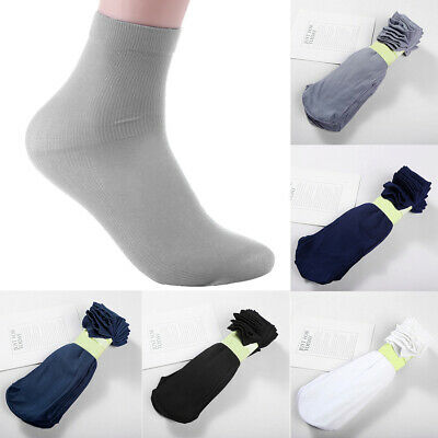 10Pairs/Lot Men's Soft Disposable Try On Socks Summer Thin Breathable Socks