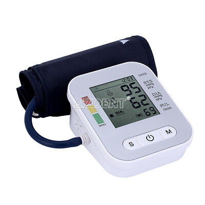 Automatic Upper Arm Blood Pressure Monitor Digital LCD Pulse USB W/ Meter Voice