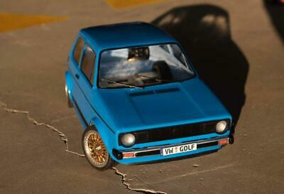 Volkswagen Golf MK1 RC body replica 1:10 Lexan carrozzeria