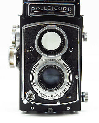 Rolleicord V - Model K3C - TLR 120 6x6 - Good vintage condition