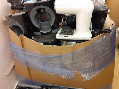 Wholesale Job Lot Raw  Customers Returns Pallet Of Coffee Machines