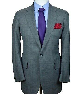 VTG Brooks Brothers Gray Blazer Mens Unconstructed Sport Coat Jacket Size 42-L