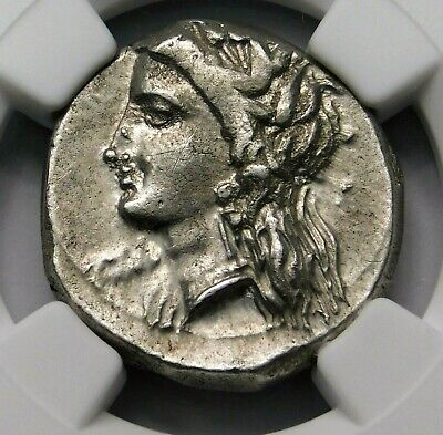 NGC Ch XF 4/5 4/5 LUCANIA, Metapontum Stunning Stater. Ancient Greek Silver Coin