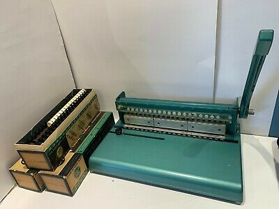 GBC General Binding Corp. Binding Machine Tool Vintage 12CP