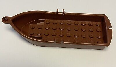city etc. friends Brand New Lego Brown Row Boat for minifigures Pirates