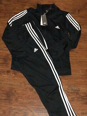Adidas Women TRACK SUIT SET black Jacket Pants