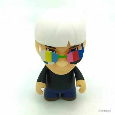 Kidrobot The Many Faces Of Andy Warhol Vinyl Series Fright Wig 80s NEW