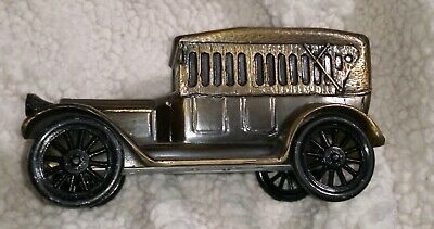 Banthrico Metal Vintage Bank 1917 Model Of Antique Car