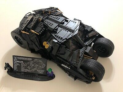 LEGO DC Comics Super Heroes The Tumbler 76023 ALL PIECES AND INSTRUCTIONS