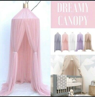 Children Netting Curtain Tent bed canopy mosquito net with round lace boys/girls