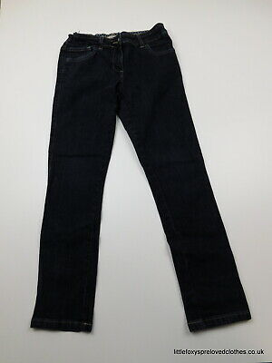 10 years M&S Indigo boys jeans dark blue straight