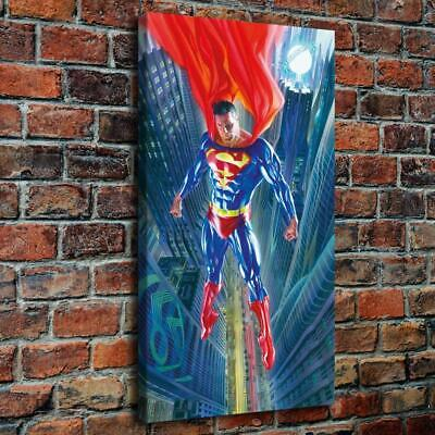 Alex Ross Superman HD Canvas prints Painting Home decor Picture Wall art Poster