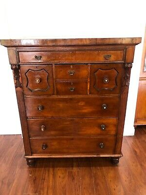 Antique Tallboy with eight drawers/chest of drawers