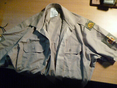 Australian Army Shirt with WO2 Rank