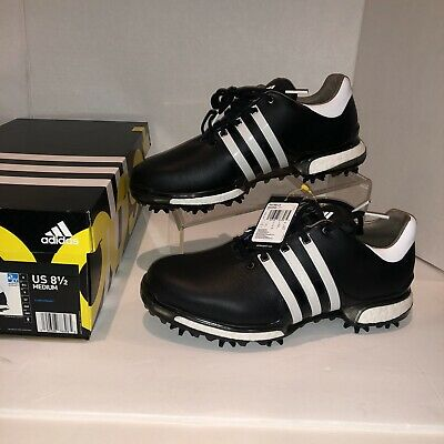 New 2018 Adidas Tour 360 Boost 2 0 Golf Shoes Q44945 Black White Size 10 Med 95 99 Picclick