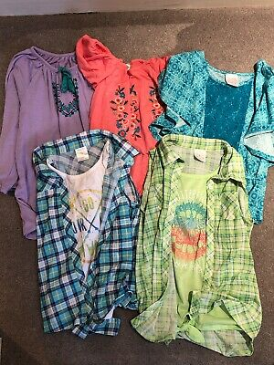 Bundle Of 5 Girls Boho Chic Tops Age 10-12: One Top Is BNWT