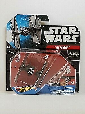 Hot Wheels Star Wars first order tie figther Special Forces Disney mattel