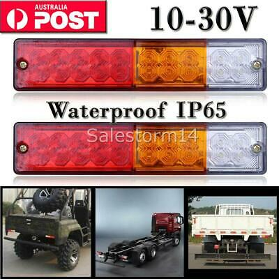 Trailer Lights 20 Led Stop Tail Indicator Reflector Truck Camper Light 10-30V