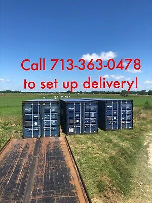 Used 40' shipping containers for Sale in Texas