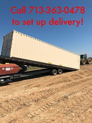 New 1 trip 40' shipping containers for Sale in Texas