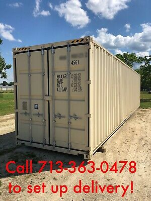 New 1 trip 40' hi cube shipping containers for Sale in Texas